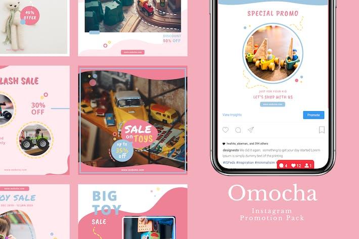 Thumbnail for Omocha - Instagram Feeds Pack