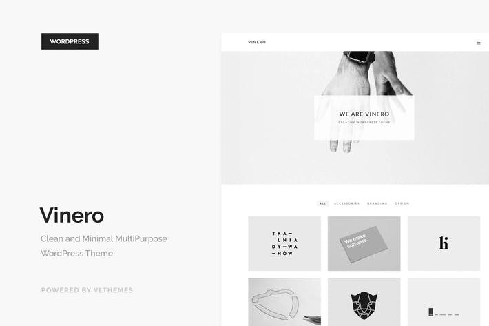 Thumbnail for Vinero - Creative MultiPurpose WordPress Theme