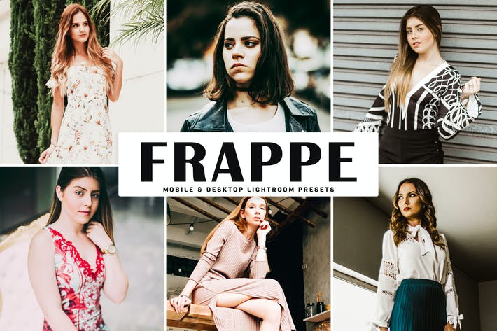 Cover Image For Frappe Mobile & Desktop Lightroom Presets