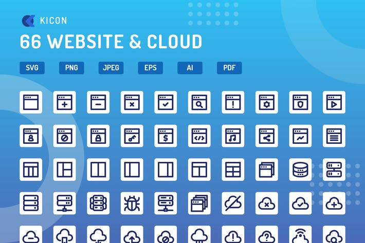 Thumbnail for Kicon - Site Web & Cloud