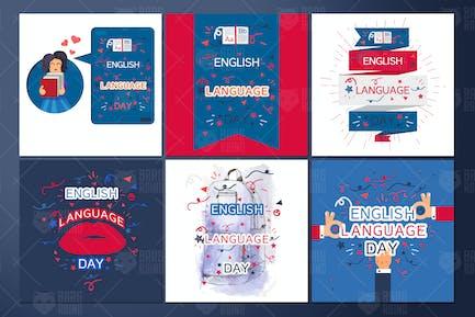 English Language Day Banners
