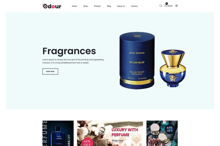 Thumbnail for Olor - Perfume Shopify Tema