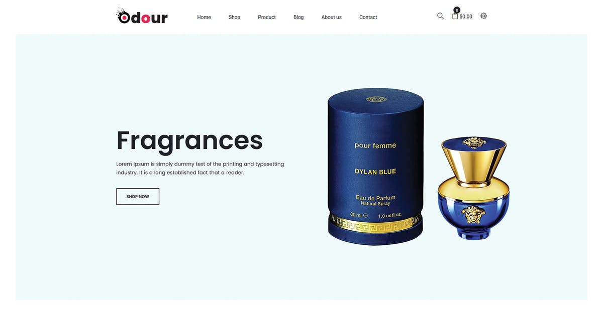 Download Odour - Perfume Shopify Theme by codecarnival