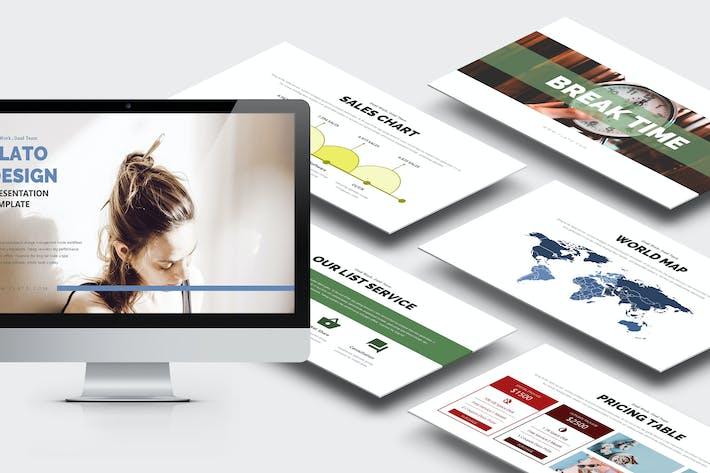 Thumbnail for Flato: Creative Business Google Slides Vorlage
