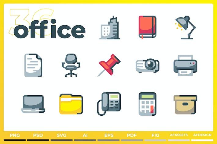 Íconos de Oficina - Iconez