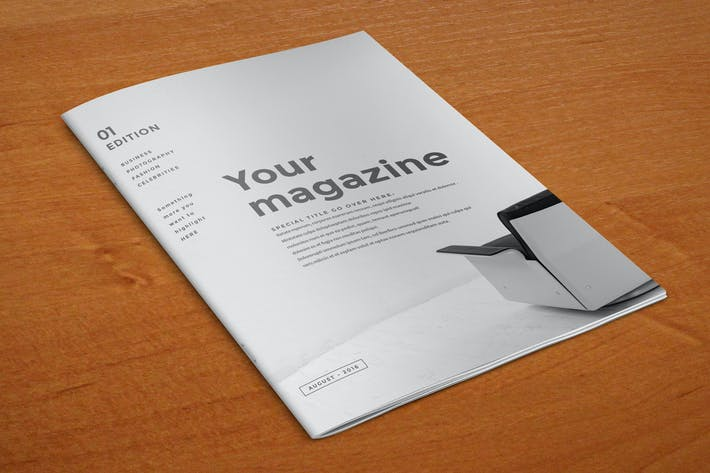 Thumbnail for Simple Minimal Magazine