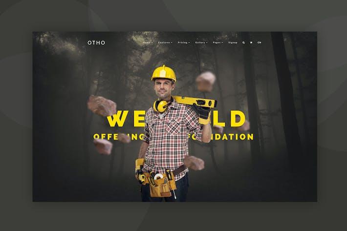 Thumbnail for Web Hero Header Template