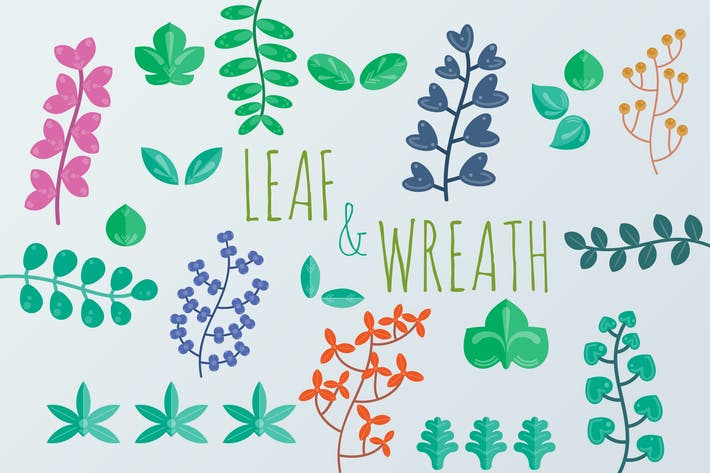 Thumbnail for Leaf and Wreath