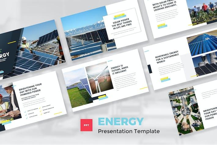 Thumbnail for Шаблон PowerPoint из возобновляемых источников энергии