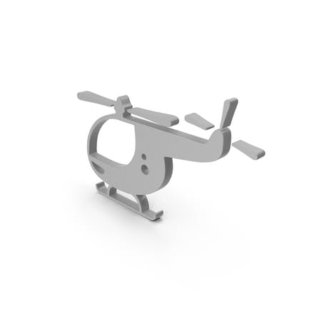 Hubschrauber-Symbol