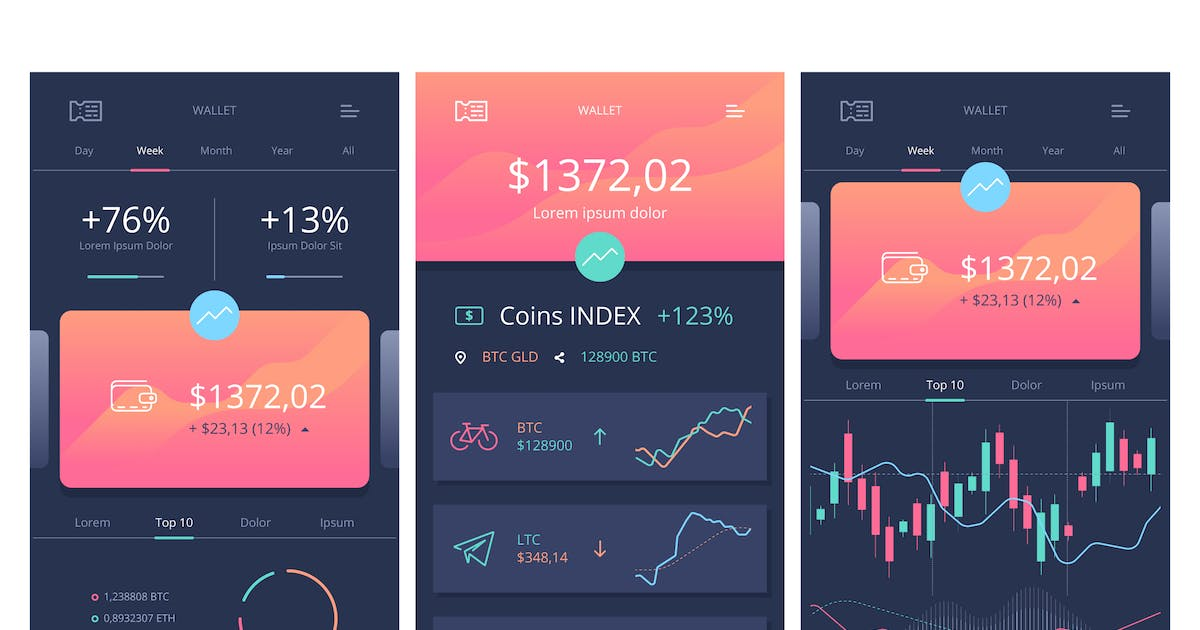 Vector Crypto Wallet by fet