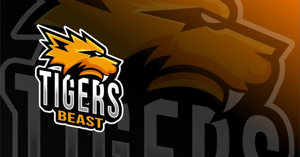 Download Tiger Beast Esport Logo Template by IanMikraz