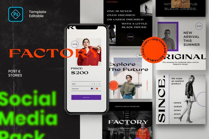 Usine - Publier et histoire Instagram Vol.1
