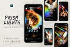 Prism Lights Instagram Stories