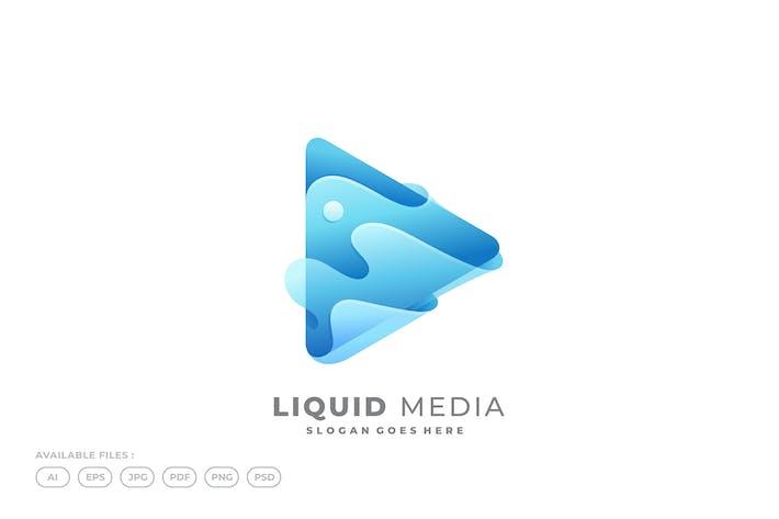 Thumbnail for Liquid Player Media Logo Template