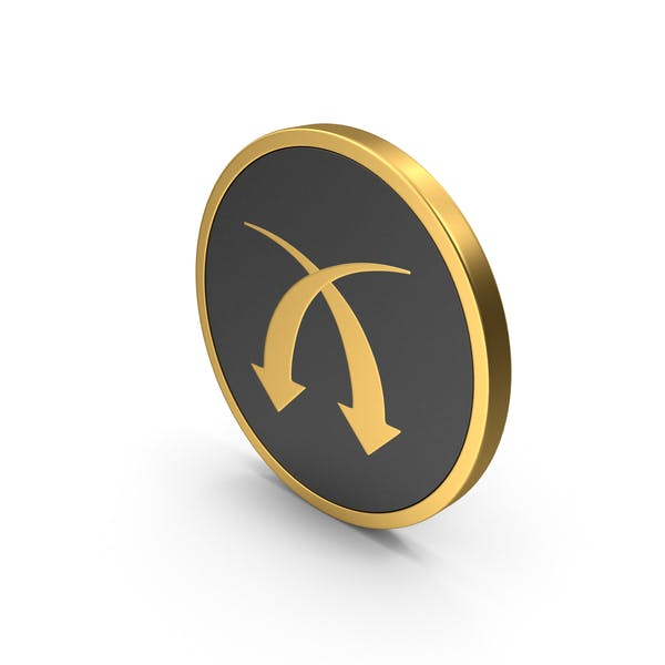 Gold Icon Arrows