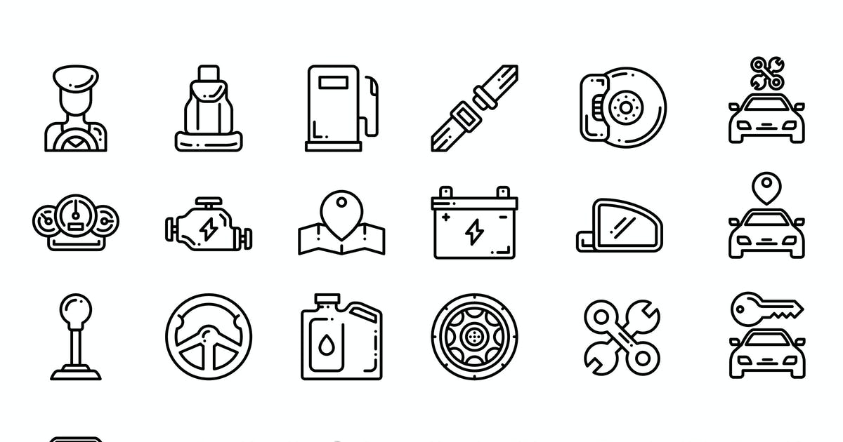 Download Car Parts Icon by vintagio