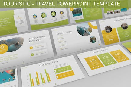 Touristic - Travel Powerpoint Template