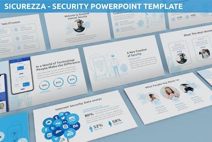 Sicurezza - Security Powerpoint Template