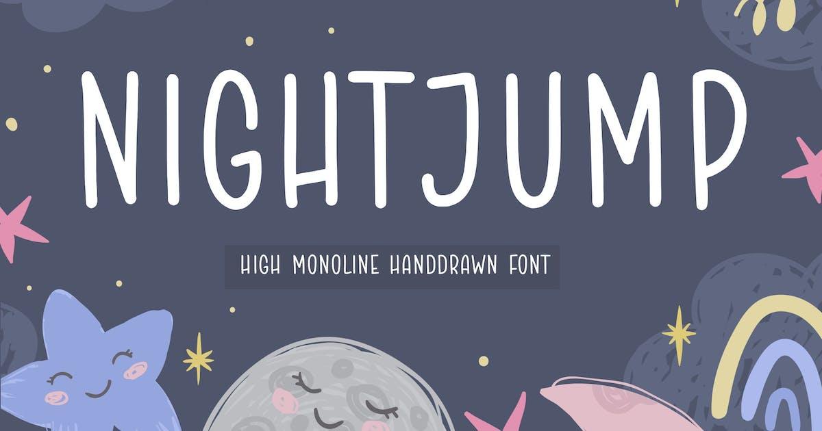 Download Nightjump Handwriting Font YH by GranzCreative