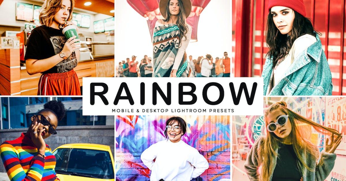 Download Rainbow Mobile & Desktop Lightroom Presets by creativetacos