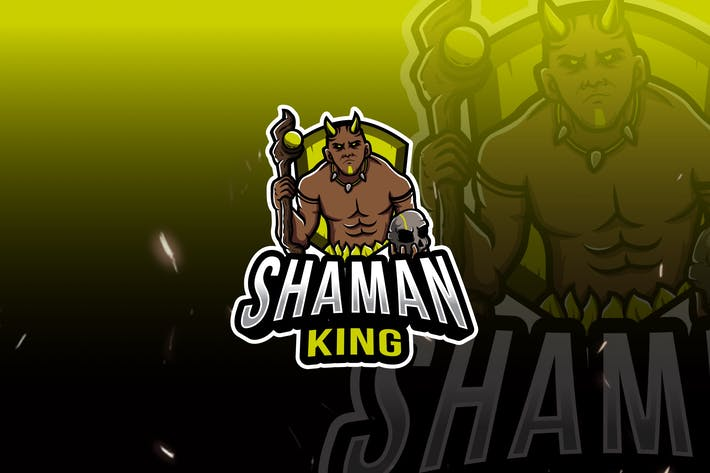 Thumbnail for Shaman King Esport Logo Template