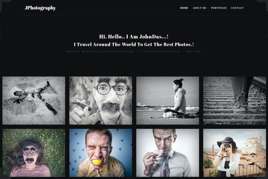 jPhotography - Porfolio de Fotografía Minimalista