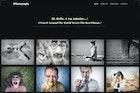 JPhotography - Minimal Photography Portfolio