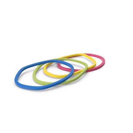 Multi Color Rubber Elastic Bands