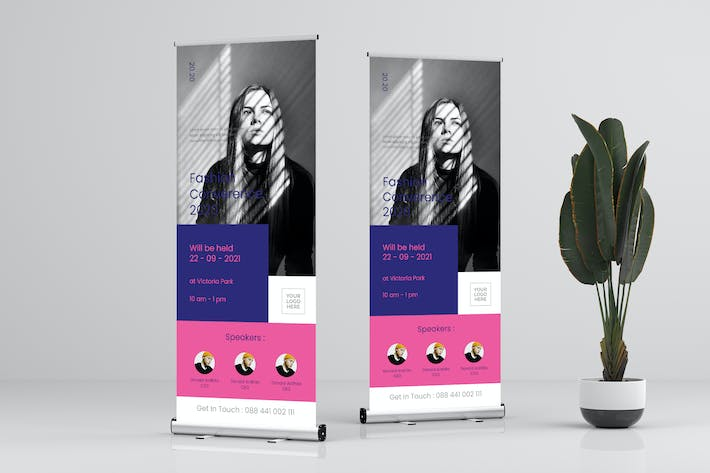 Thumbnail for Roll Up Banner Business Promotion Vol. 6