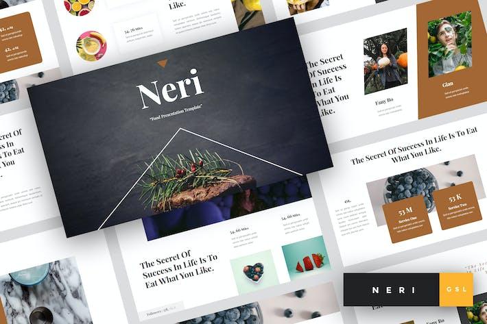 Thumbnail for Neri - Food Google Slides Template