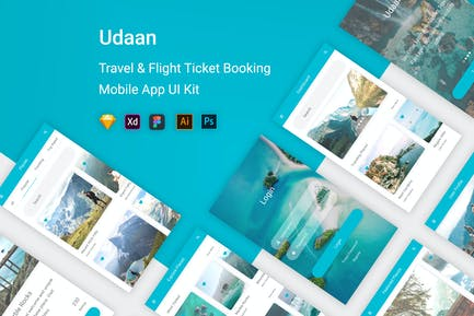 Udaan - Travel & Flight Booking Mobile App