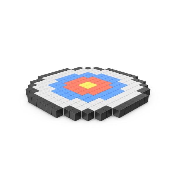 Thumbnail for Target Pixelated Icon