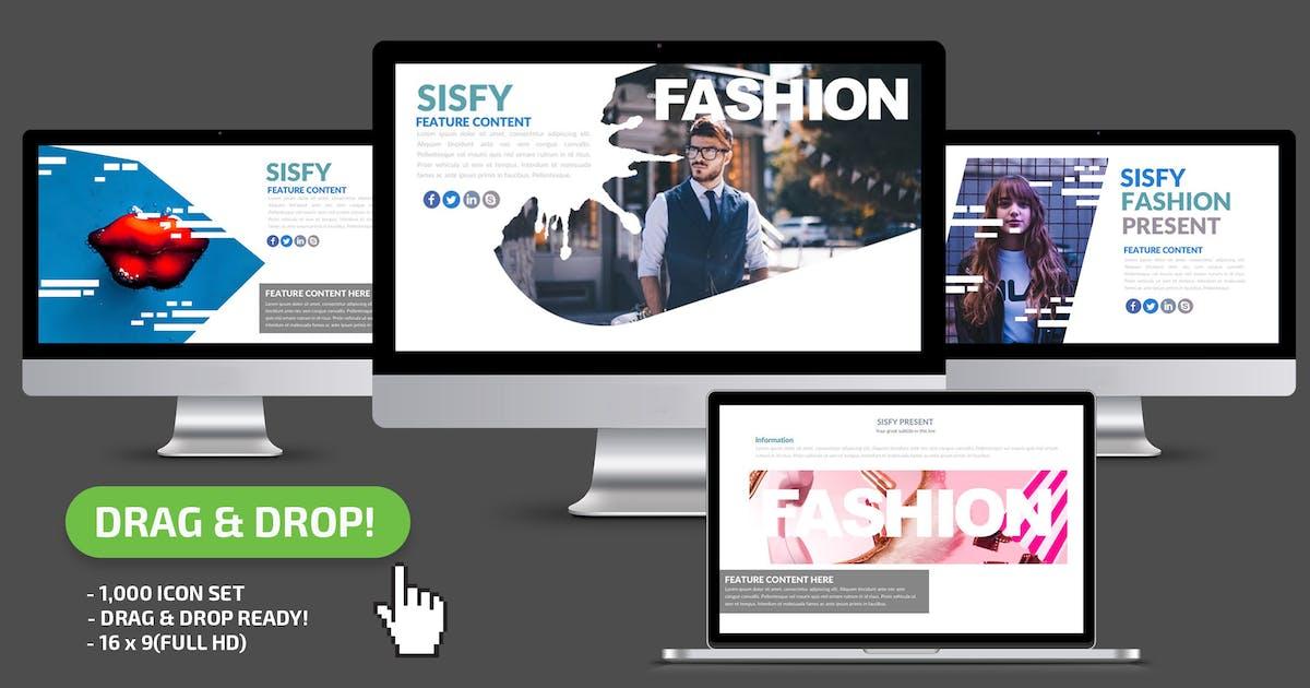 Download Sisfy Keynote Presentation Template by mamanamsai