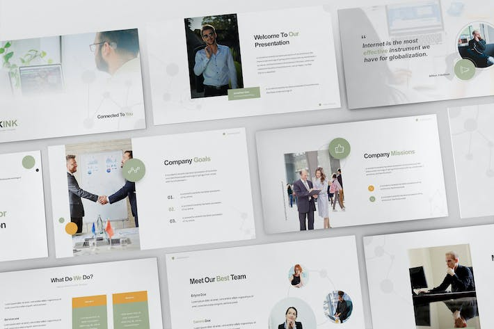 Thumbnail for Internet Service Provider Powerpoint Template