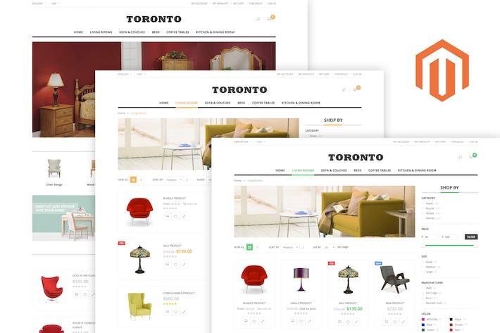 Thumbnail for SNS Toronto - Thème Premium Responsive Magento