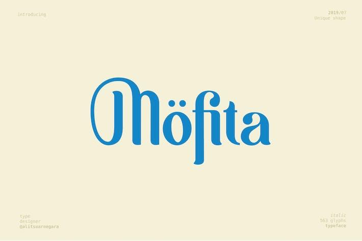 Thumbnail for Möfita font