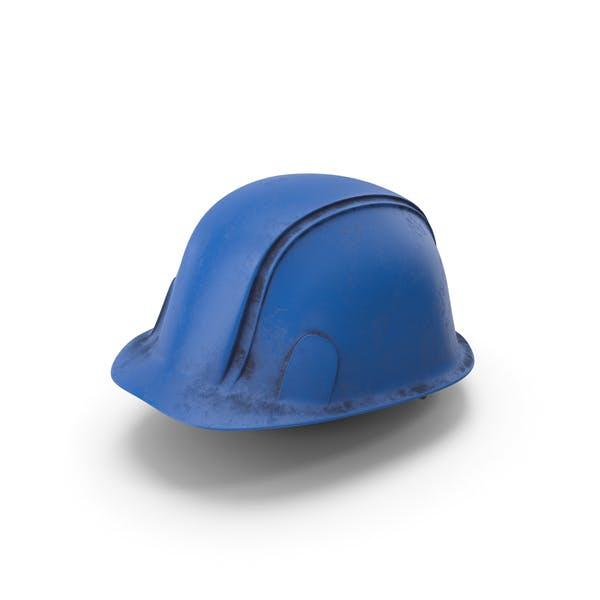 Hard Hat Dirty Blue