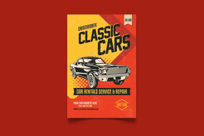 Thumbnail for Classic Cars Flyer