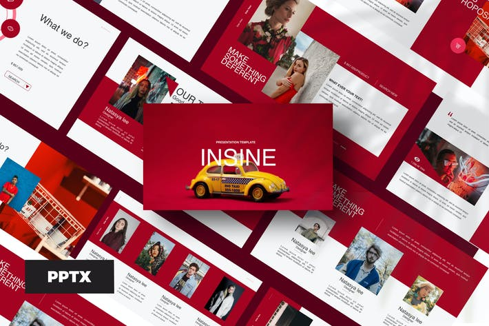 Thumbnail for Insine - Powerpoint Template