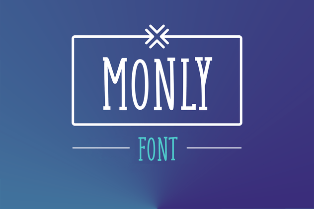 Monly Font - product preview 0