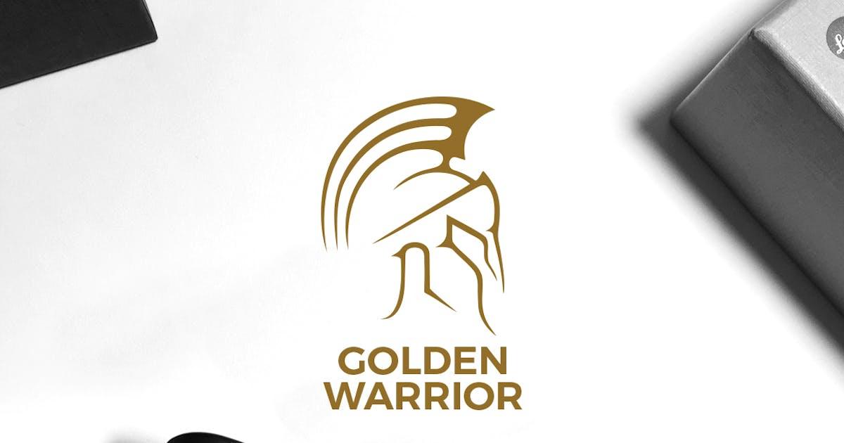 Golden Warrior Logo by VisualColony