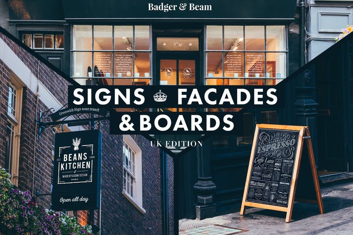 Thumbnail for Signs & Facades Mockups (UK edition)