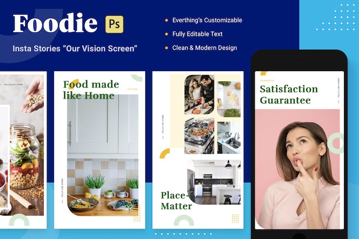 Thumbnail for Foodie Insta Stories - Our Vision