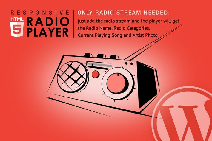 Thumbnail for Radio Player Shoutcast & Icecast WordPress Plugin
