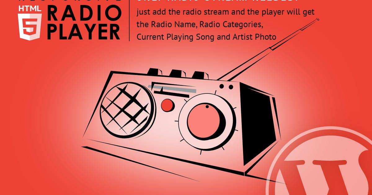 Download Radio Player Shoutcast & Icecast WordPress Plugin by LambertGroup