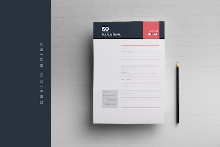 Thumbnail for Design Brief Template