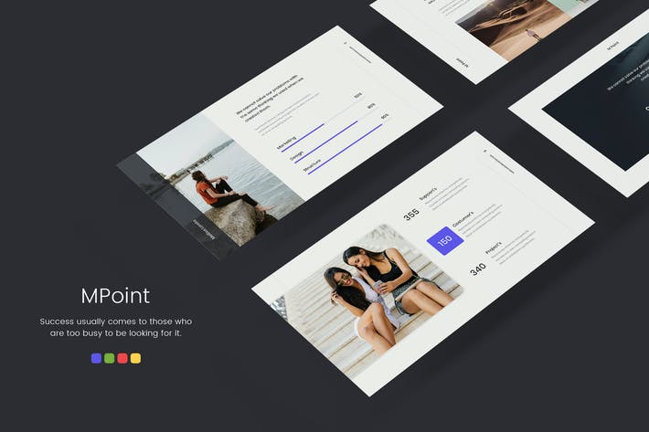 Thumbnail for MPoint - Minimal & Business Template (PPTX)