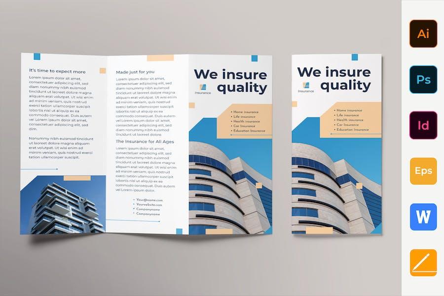 Insurance Agency Brochure Trifold