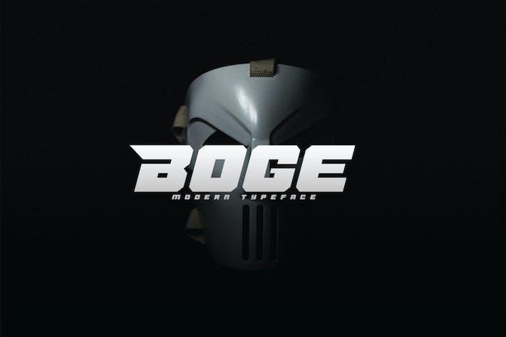 Thumbnail for Bogée